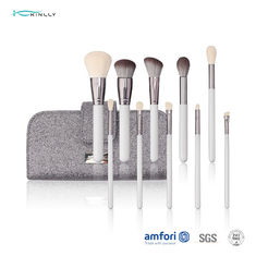 ISO9001 Travel 11pcs Natural Hair Makeup Brush